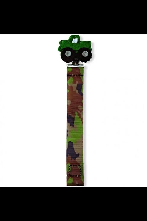 Camo Truck Pacy Clip