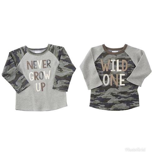 Camo LS Tshirts