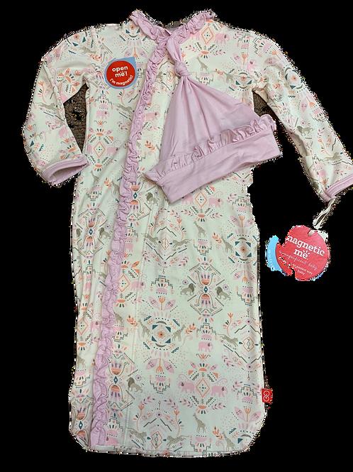 Boho Bebe Modal Magnetic Sack Gown Set
