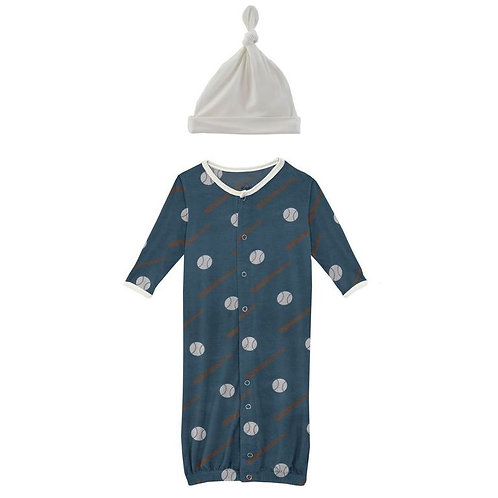 Deep Sea Baseball Gown