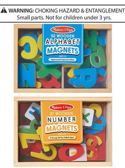 Alphabet & Number Magnets 0448/0449