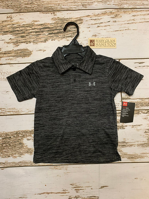 UA Twist Polo Black