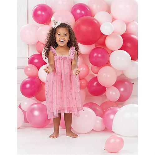 Glitter Mesh Dress 12M-5T