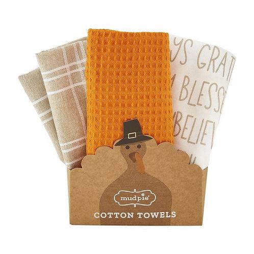 Always Grateful Towel Set