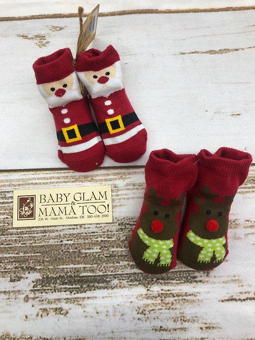 Christmas Car Box Socks