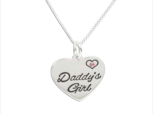"""BCN-Daddy's Little Girl Necklace 14"""""""