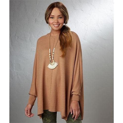 Camel Leni Sweater One Size