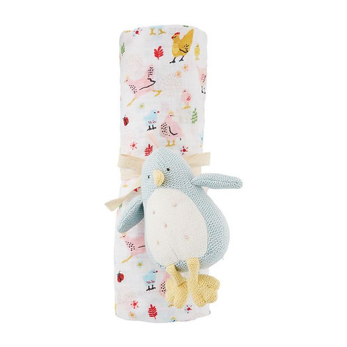 Chick Rattle & Swaddle