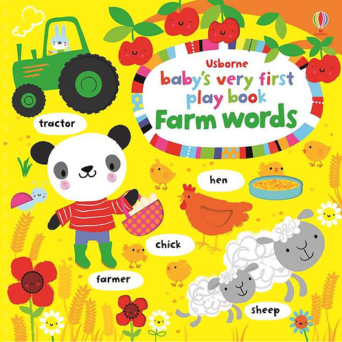 Baby's Very First Play Book: Farm Words