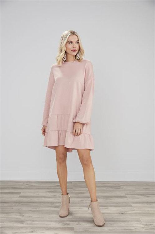 Blush Kristy Sweatshirt Dress