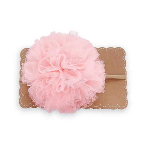 Light Pink Large Puff Headband