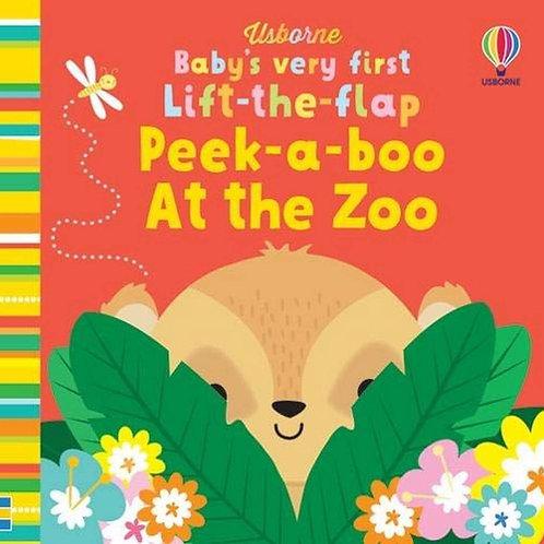 BVF Lift-the-Flap Peekaboo Zoo