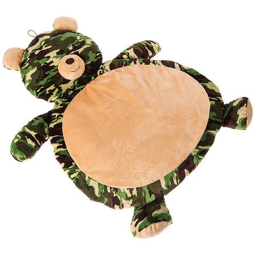 Camo Bear Baby Mat