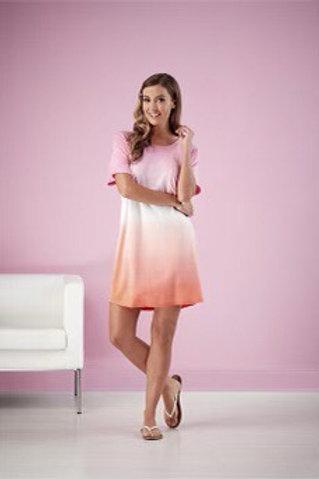 Cleo Tie Dye Dress- Pink