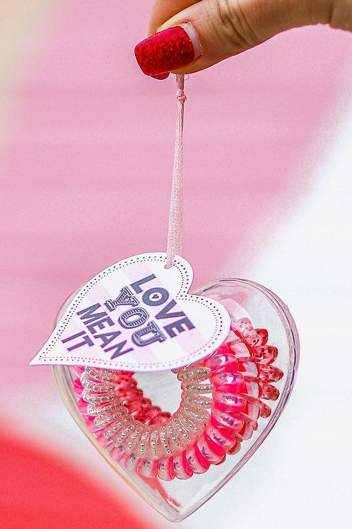3HH Heart Ties- Love You