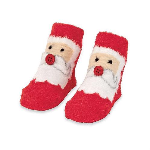 Chenille Christmas Socks