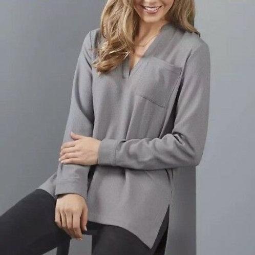 Amelia Essential Tunic- Gray