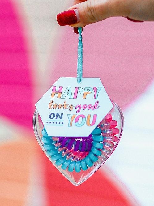 3HH Heart Ties- Happy Looks