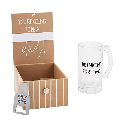 Dad Beer Announcement Box