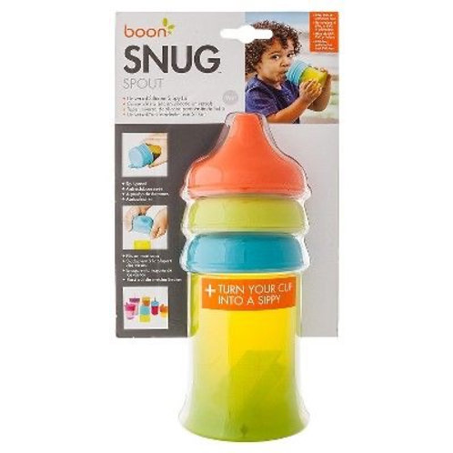 Boon Snug Spout- Green, Orange, & Blue