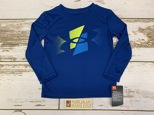 Blue Slashed Symbol LS