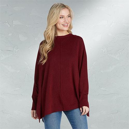 Burgundy Leni Sweater One Size