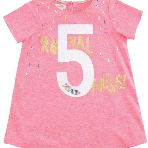 5 Birthday TShirt 5t
