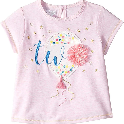 Two Birthday Tee- 24M/2T