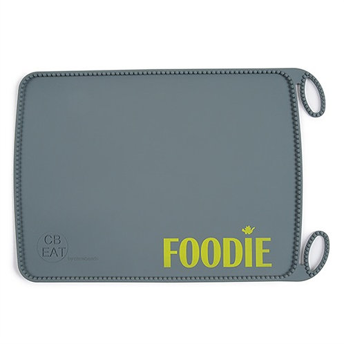 CB Silicone Rill Up Placemat Grey