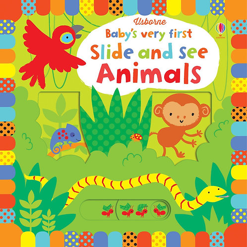 BVF Slide And See Animals Book