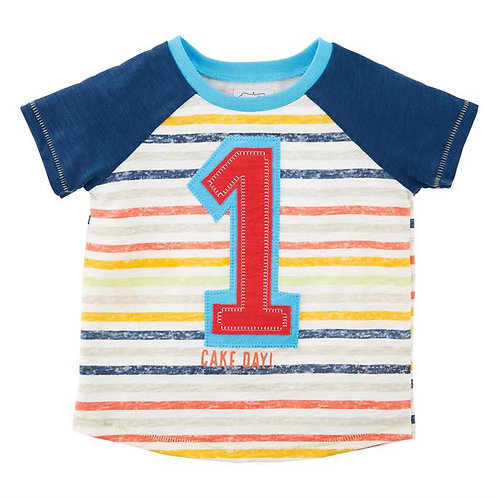 Boy One Birthday Shirt