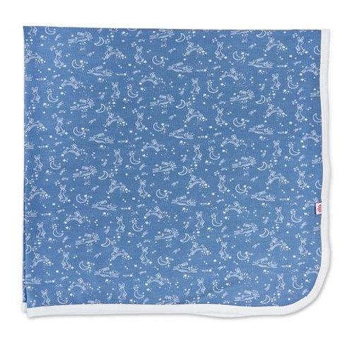 Blue Sky Bunny Modal Swaddle Blanket