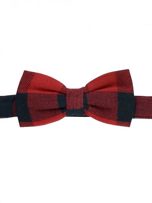 Buffalo Plaid Bow Tie