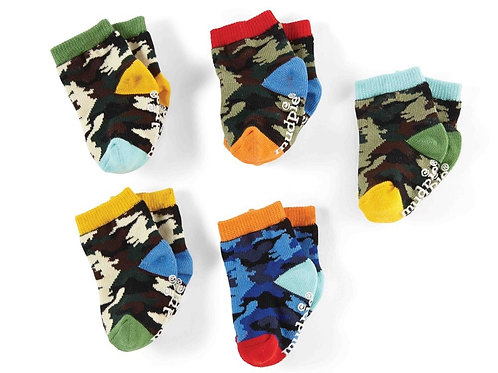 Colorful Camo Sock Set