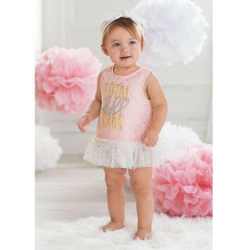Doll Baby Dress Bloomer Set