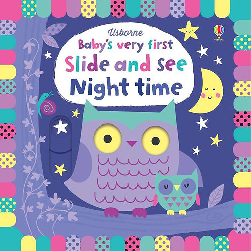 BVF Slide And See Nighttime Book