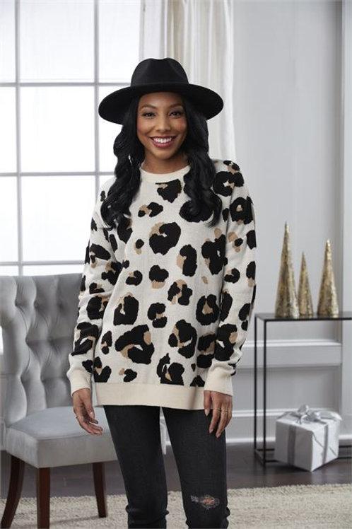 Autumn Jacquard Sweater WH