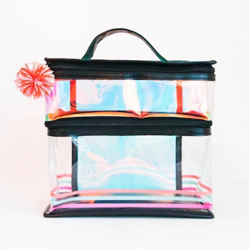 Black Iridescent Lunchbox