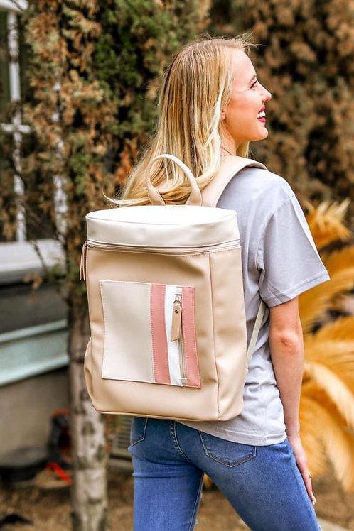 Jade Tan/Cream Backpack