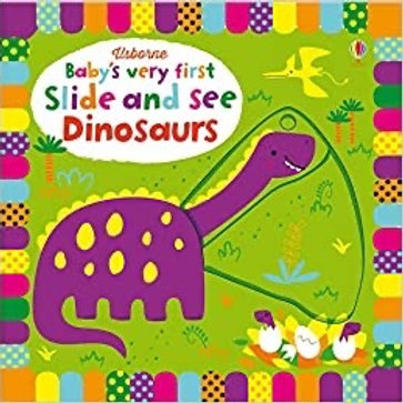 BVF Slide And See Dinosaurs Book