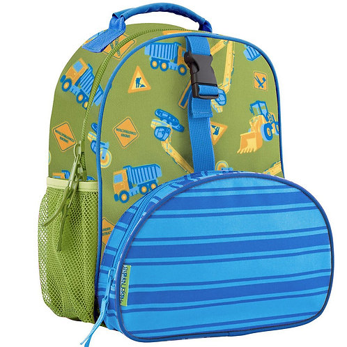 All Over Print Mini Backpack Construction