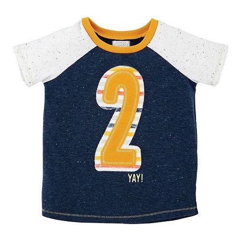 Boy Two Birthday Shirt