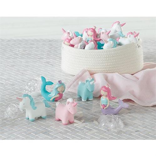 Unicorn Mermaid Bath Toys