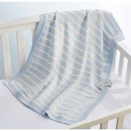 Blue Stripe Blanket