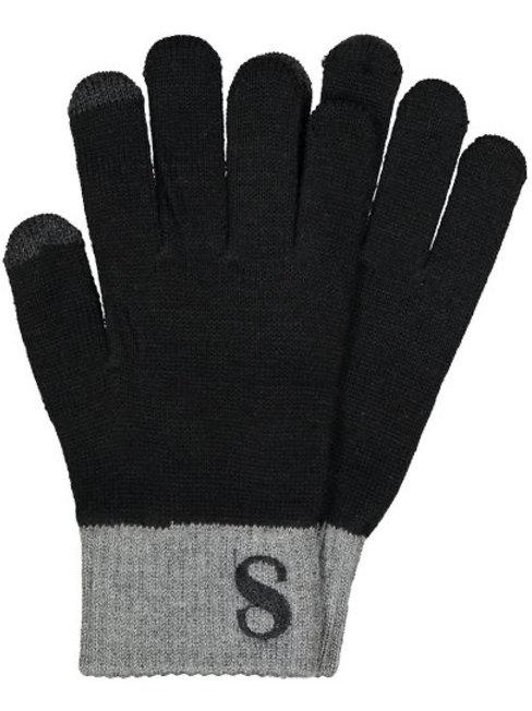 Chelsea Initial Glove Gray