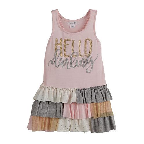 Dream Big Darling Ruffle Dress