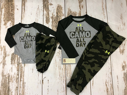 All Camo All Day Set