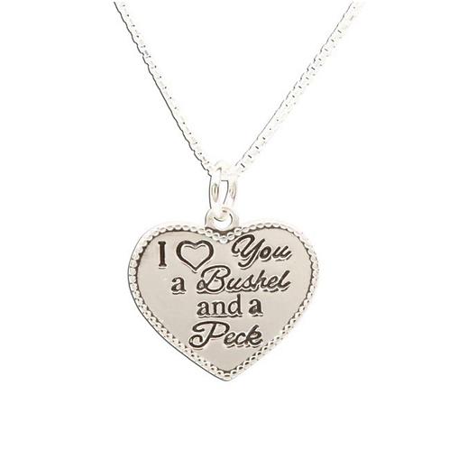 """Bushel & Peck Necklace 14"""""""