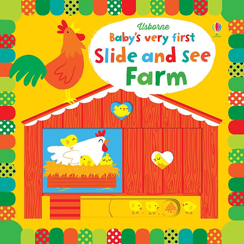 BVF Slide And See Farm Book