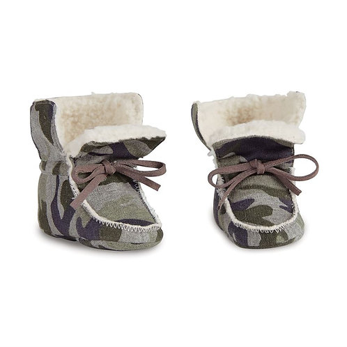 Camo Sherpa Booties